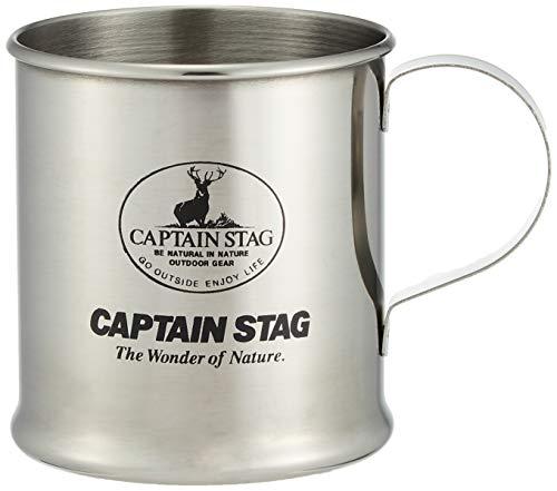 キャプテンスタッグ(CAPTAIN STAG) バーベキュー BBQ用 コップ マグカップ レジェルテ ステンレス 300mlM-1243