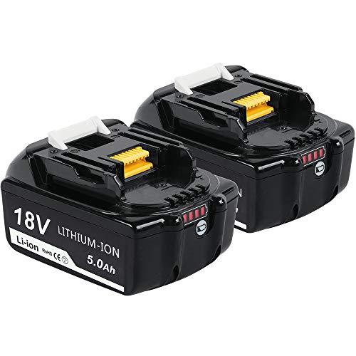 2X Makita BL 1850 B BL1840B 18V 4A Li-Ion Akku LED /& DC18RD Doppel Ladegerät De