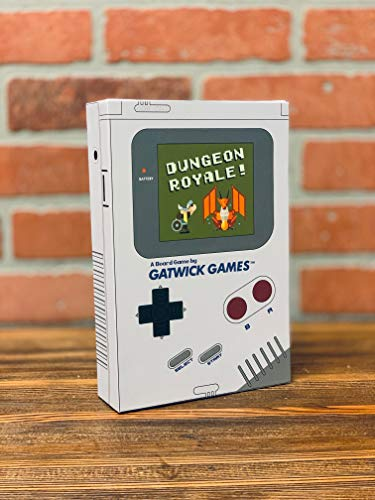 Dungeon Royale  Best Rated Strategy Board Game by Gatwick Games  Popular New Game Funded on Kickstarter  Great for Family Game Night Couples Date Night and Birthday Party Events  2 to 5 Players