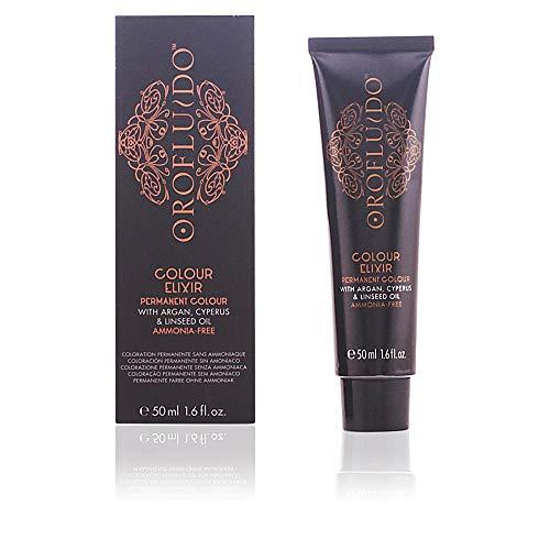 Orofluido Colour Elixir Tinte Permanente, Tono 1 Negro - 50 ml
