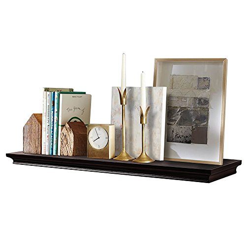 AHDECOR Deep Floating Shelves Display Ledge Shelf with Invisible Blanket, 36
