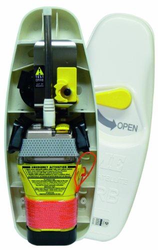GME GPS - Radiobaliza de Emergencia RLS para Barcos, Color Yellow/Orange/White