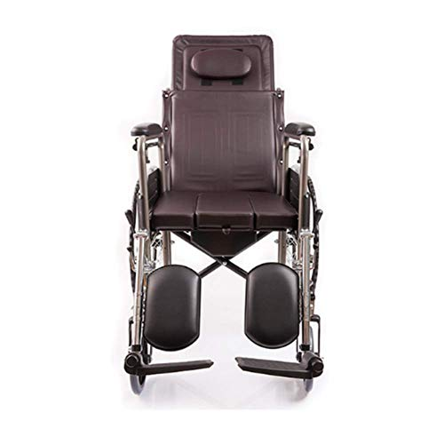 WLG Multifunction Lightweight Wheelchairs for Adults Self Propelled, Professional Medical Mobili