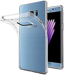 حافظه من السيليكون المرن لـ Samsung Galaxy Note 7 -شفاف