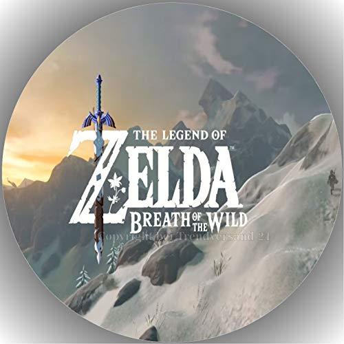Fondant Tortenaufleger Tortenbild Geburtstag Die Legende von Zelda T25