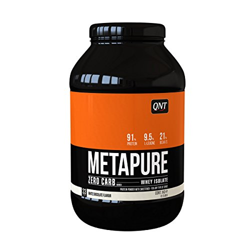 QNT Metapure Zero Carb Whey Isolate Supplement, White Chocolate