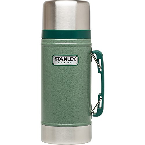 Stanley The Legendary Classic Vacuum Food Jar .70L Green 18/8 Stainless Steel Double-Wall Vacuum Insulation Water Bottle Leakproof + Packable Dishwasher Safe Naturally Bpa-Free