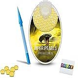 Premium Menthol Kapseln 100er Set | DIY Menthol Filter für unvergesslichen Flavour Geschmack | inkl. Box zur Aufbewahrung der aromatischen Click Hülsen Kugeln