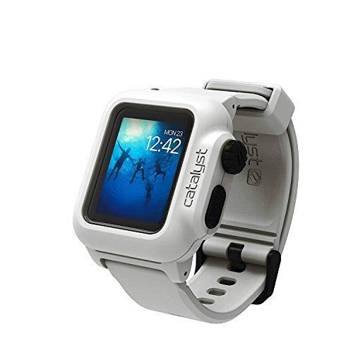 Catalyst - Custodia Impermeabile Antiurtoper Apple Watch42 mm Serie 2 (Bianco)