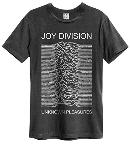 Joy Division 'Unknown Pleasures' T-Shirt - Amplified Clothing - New & !