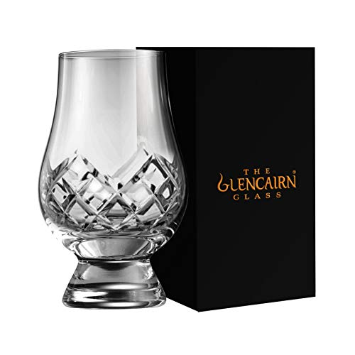 The Glencairn Cut Crystal Whisky Tasting Glass
