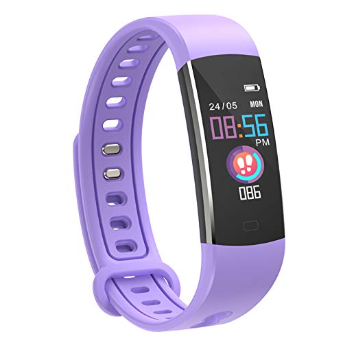 moreFit Kids Fitness Tracker Watch - Activity Trucker with Hear Rate Monitor SmartWatch with 4 Sport Modes, Sleep Monitor Fitness Watch with Call & SMS Reminder Alarm Clock Gift for Boys Girls