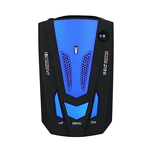 Detector De Radares Para Vehículo De Coche Detector Anti-radar De Coche Antiradar GPS 2 En 1 Velocidad De Indicación De Voz Medición Automática De Velocidad Pantalla LED
