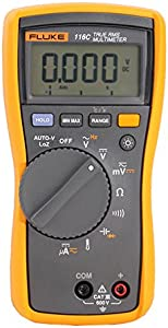 Fluke 116 HVAC Digital Multimeter With LoZ Function  Temperature Measurement And Microamps PLUS Supplied Test Lead Set from Testermans  approved distributor