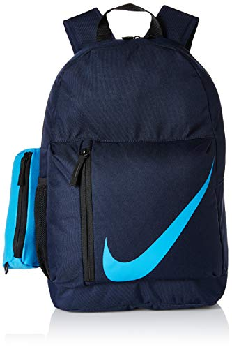 Nike Niños funneln Esquina Backpack, Todo el año, Infantil, Color Azul Marino, tamaño Talla única