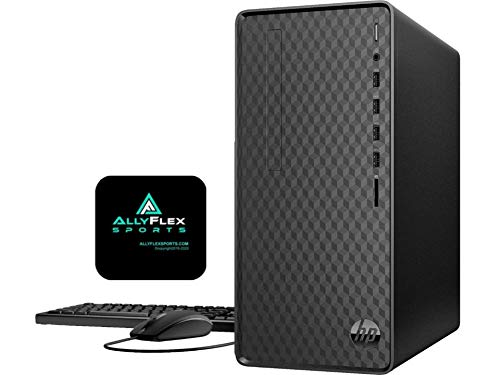 2021 Newest HP Premium Business Desktop Computer, AMD 8-Core Ryzen 7 4700G(up to 4.4Ghz, Beat i7-10700K), 32GB DDR4 RAM, 1TB SSD, WiFi, Bluetooth, HDMI, VGA, Windows 10 Home+AllyFlex Mousepad