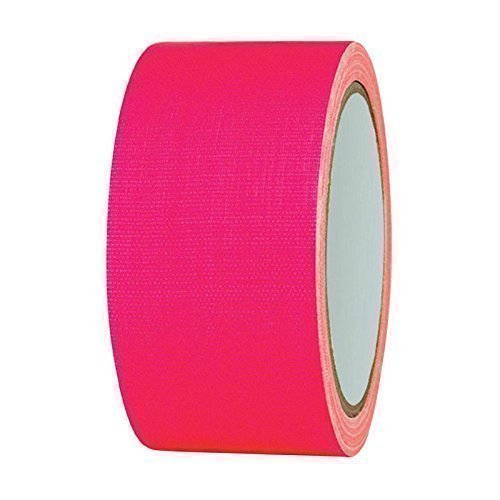 PA-WORLD NEON Gaffa Tape Klebeband UV-aktiv 50mm x 25m pink