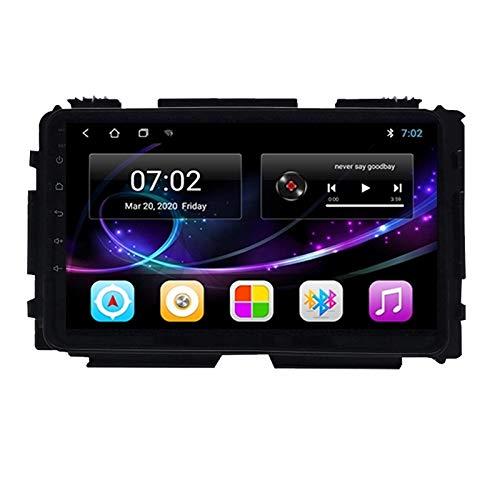 MGYQ Android Bluetooth Vivavoce Car Radio 2 DIN Car Stereo 9 Pollici HD Touchscreen con Telecamera Posteriore Supporto FM/AUX IN/1080P Riproduci, per Honda Vezel HRV 2015-2019,Quad Core,4G WiFi 2+32