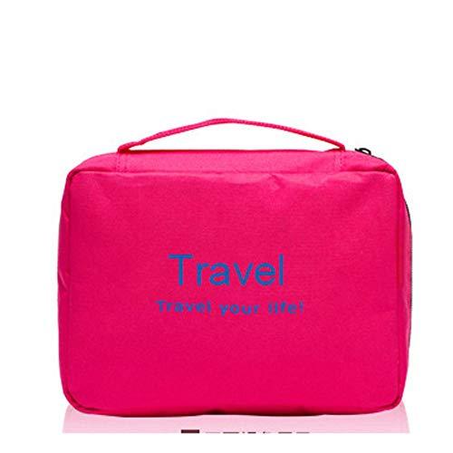 Panjianlin Organisateurs d'emballage Multifonction accrochant Le Sac de Toilette pour Les Femmes Voyage Maquillage Pouch Storage Portable Wash Bags Sac pour Organisateur Bagages Voyage