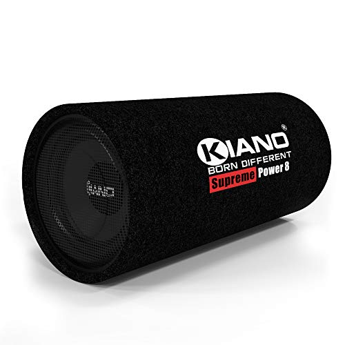 Kiano Supreme Power Passive Bass tube with Subwoofer (8 Inch, Without Amp)