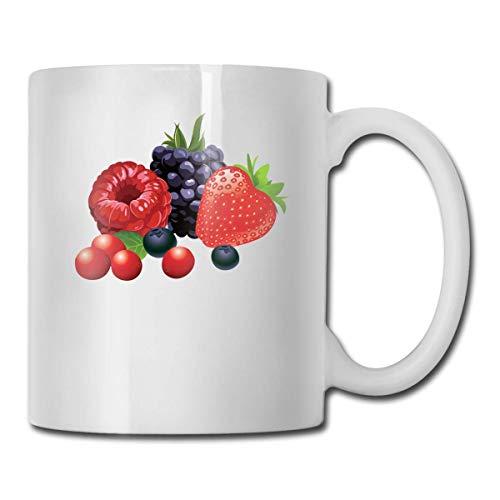 Grappige ananas met zonnebril koffiemok, 11 Oz koffiemok, grappige koffiemok thee beker, nieuwigheid verjaardagscadeau ideeën voor mannen vrouwen Eén maat Bosvruchten