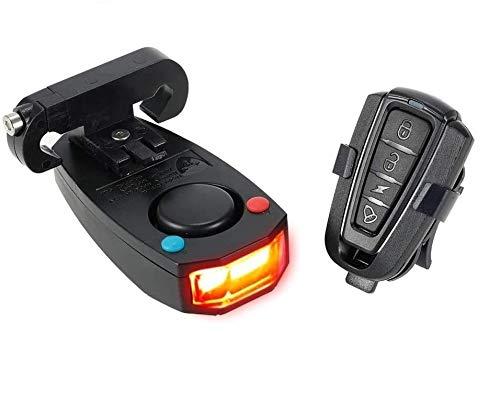 Docooler Anti-Theft Allarme bici Telecomando con Fili Cavo USB a Distanza