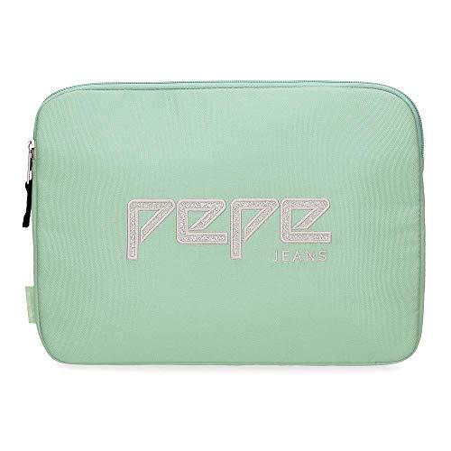 Pepe Jeans Uma Funda para Tablet 12' Verde 35x14x5 cms Poliéster