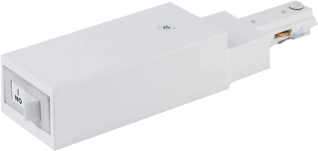 2021 model WAC Deluxe Lighting THL-HLES-10A-WT H Slim Current Connector End L Live
