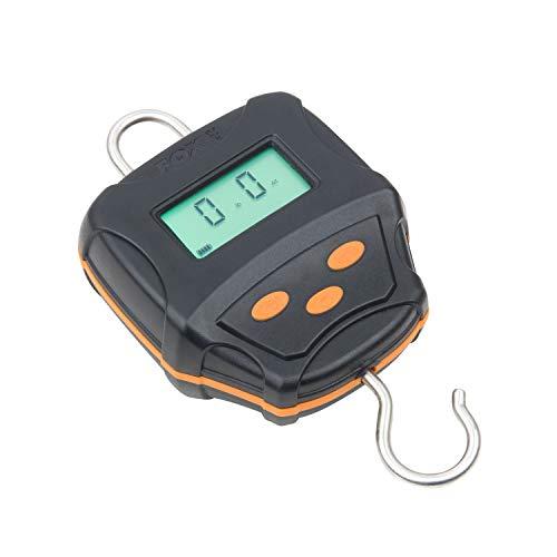Fox Digital Scales 60 kg incl. Case, weegschaal voor het vissen wegen, viswagen, weegschaal