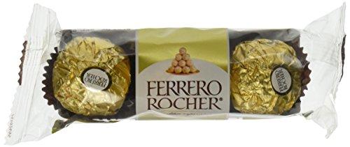 Ferrero Rocher - Cioccolatini alla nocciola fine 340,2 - 36,9 g confezionati singolarmente (456 g)