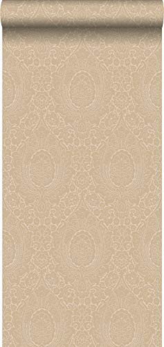 behang ornamenten champagne beige - 345427 - van Origin - luxury wallcoverings