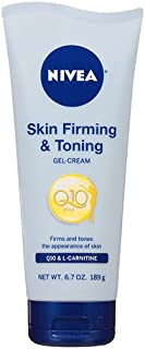 Nivea Body Skin Firming & Toning Gel Cream 6.7 oz (189 g) package of 1