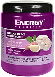 Energy Cosmetics Hair Mask Garlic With Keratin, 1000 ml - 1114306