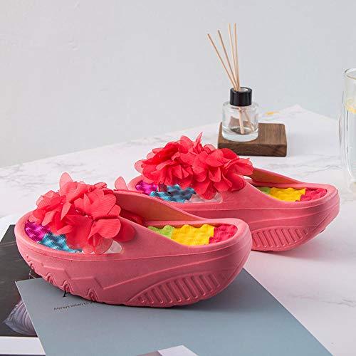 Zapatos Piscina tobogán Playa,Chanclas Fondo Grueso,Sandalias,Zapatos Playa,Hermosas...