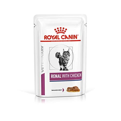 ROYAL CANIN Renal Feline - Katze - 12 x 85 g Huhn Frischebeutel