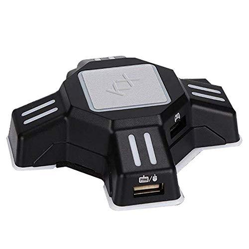 Ratón Teclado Convertidor Portátil Gamepad Controlador KX Adaptador Conectar y Usar Conector USB Para Battle Campo, Call Of Duty Juegos