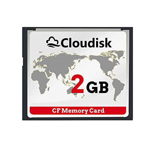 Cloudisk Compact Flash CF Card Memory Cards High Speed CompactFlash Reader Camera Card for DSLR (2GB)