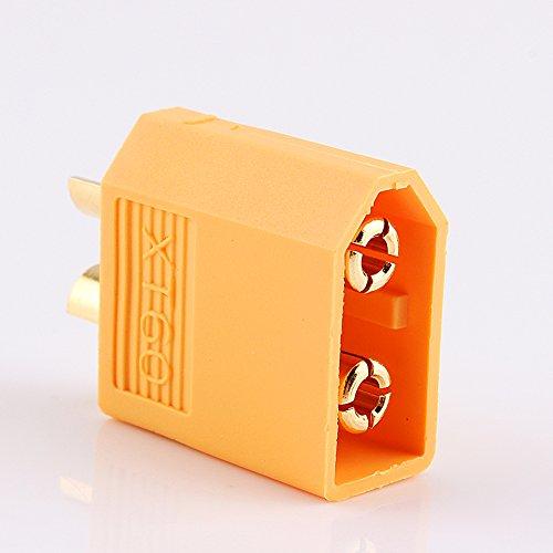 XT60 Weibliche Kugel Stecker, Stecker Adapter für RC Drohne Spielzeug LiPo Batterie