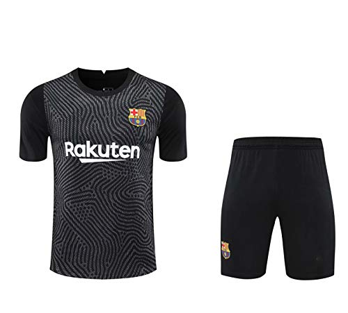 LQRYJDZ 2020/2021 Paris Hombres Pantalones Cortos Kit Deportivo Traje de Entrenamiento Transpirable Ropa Deportiva Jersey (Size : XXL)