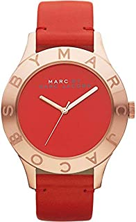 Marc Jacobs Casual Watch Analog for Women, Leather, MBM1204