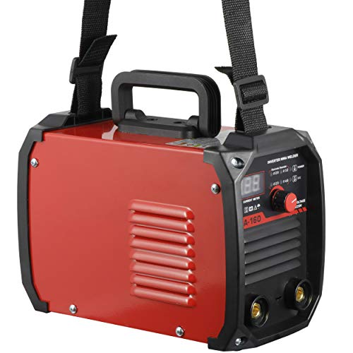 ZENSTYLE Arc Welding Machine DC Inverter 160AMP 110V/230V Dual Voltage IGBT Stick Arc Welder