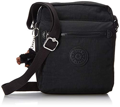 Kipling Women's Livie Bag, Adjustable Crossbody Strap, Zip Closure, black, One Size