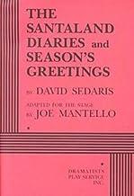 David Sedaris: Santaland Diaries & Seasons Greetings : 2 Plays (Paperback); 1998 Edition
