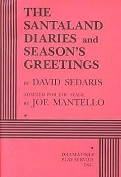 David Sedaris  Santaland Diaries & Seasons Greetings   2 Plays  Paperback   1998 Edition