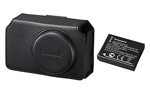 Panasonic - Kit custodia e batteria per TZ70