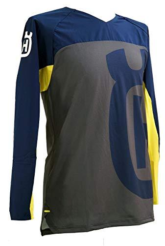 Husqvarna Camiseta Accelerate DH Grey Blue Talla S