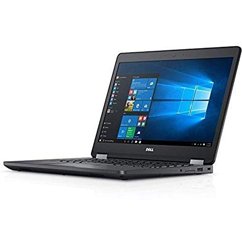 Fast Dell Latitude E5470 HD Business Laptop Notebook PC (Intel Core i5-6300U, 8GB Ram, 256GB Solid State SSD, HDMI, Camera, WiFi, SC Card Reader) Win 10 Pro (Renewed).