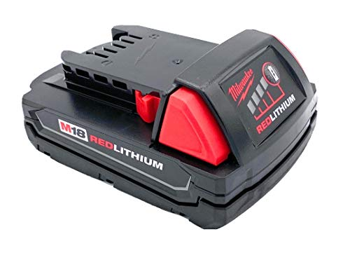 Milwaukee M18 1.5 Ah 18V Red Lithium Ion Battery 48.11.1815 for Impact Drill