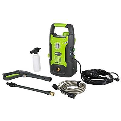 GreenWorks 1600 PSI 13 Amp 1.2 GPM Pressure Washer GPW1602