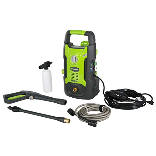 Greenworks 1600 PSI 13 Amp Pressure Washer for Cars